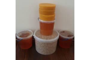 МЕД разнотравья & amp; # 039; я с домашней пасеки в удобных ведерках из пищевого пластика 1 литр (1. 45 кг) цена 100 грн.