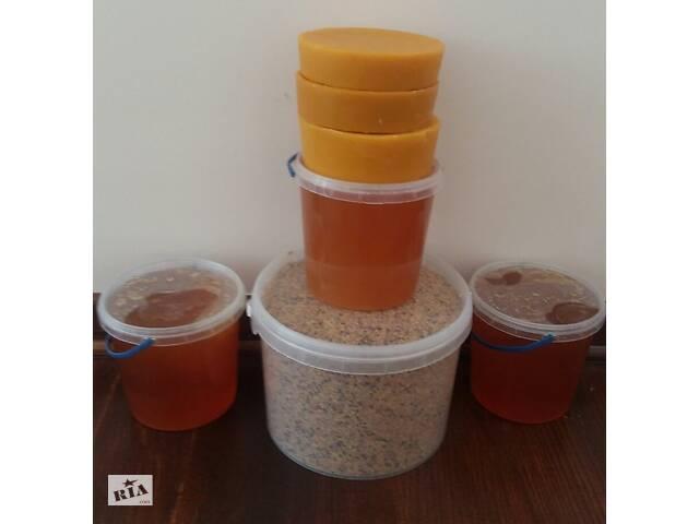 МЕД разнотравья & amp; # 039; я с домашней пасеки в удобных ведерках из пищевого пластика 1 литр (1. 45 кг) цена 100 грн.- объявление о продаже  в Ровно