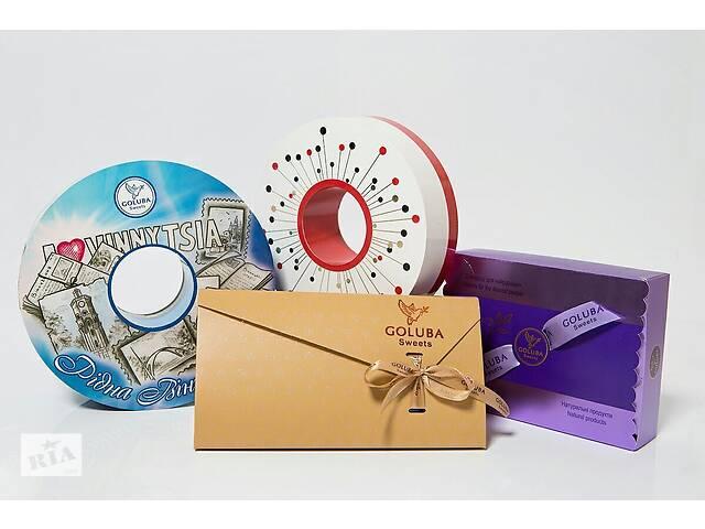 купить бу Набор конфет Goluba Sweets Голуба Свитс & quot; Родная Винница & quot; 400 гр в Виннице