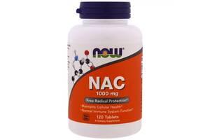 NAC N-Ацетил-L-Цистеин Now Foods 1000 мг 120 таблеток (NF0185)