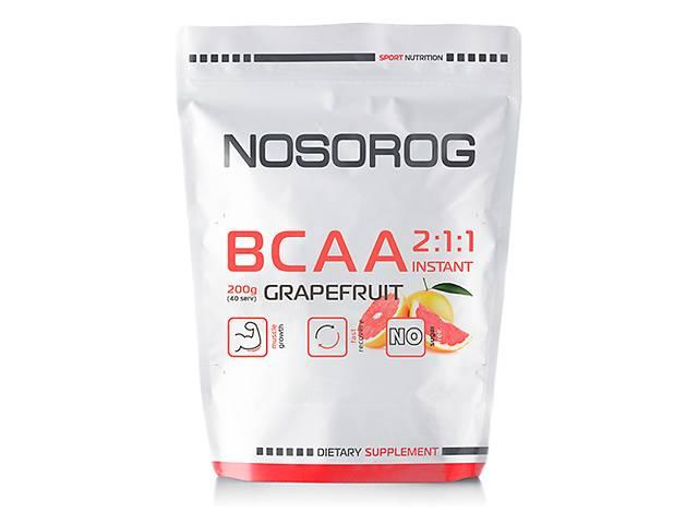 купить бу Nosorog BCAA 2:1:1 грейпфрут, 200 гр в Мариуполе