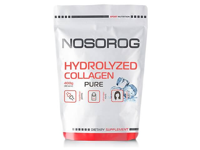 бу Nosorog Hydrolyzed Collagen натуральний, 400 гр в Мариуполе