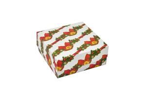 Новогодняя упаковочная коробочка