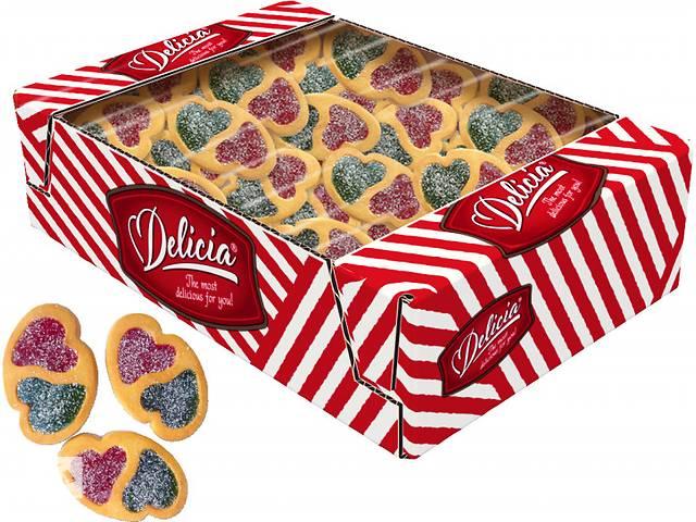 Печенье сдобное Delicia Лавели 1.3 кг- объявление о продаже  в Киеве