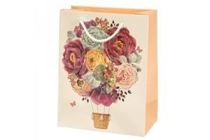 Подарунковий пакет Букет яскравих Троянд