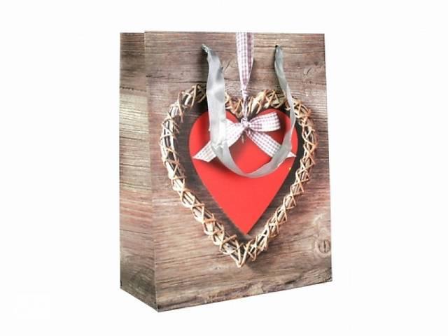 продам Подарочный пакет Сердце 23см бу  в Украине