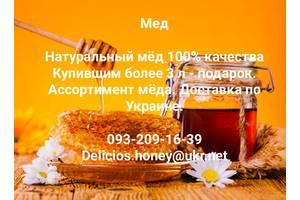 Продам высококачественный экологический мед