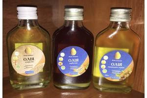 Растительное масло, кокосовое, грецкого ореха, кунжутное, тимн, расторопша