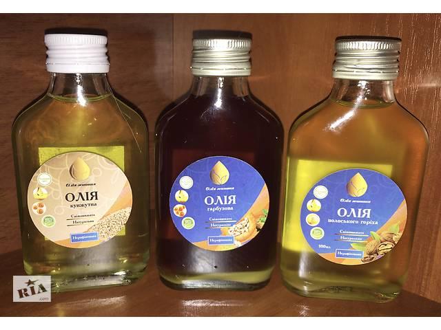 Растительное масло, кокосовое, грецкого ореха, кунжутное, тимн, расторопша- объявление о продаже  в Киеве