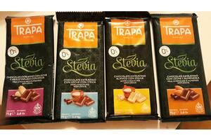Шоколад Trapa, без сахара и глютена, Испания, 75г (УЦЕНКА)