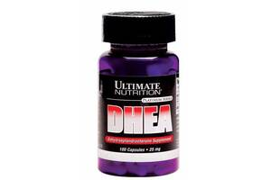 Тестостероновый бустер Ultimate Nutrition DHEA 25 mg, 100 капс (104699)