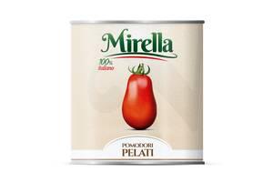 Томаты очищенные в собственном соку  2,5 кг MIRELLA ROSSO GARGANO/Томати очищені у соку 2,5 кг