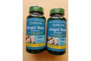 Имбирь Puritan`s Pride - Ginger 550 мг (60 капсул) США