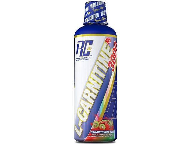 купить бу Жиросжигатель RonnieColemanSS L-Carnitine-XS Liquid 465 мл- strawberry kiwi в Полтаве