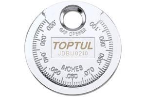 "Приспособление типа ""монета"" TOPTUL для проверки зазора между элетрод. cвечи JDBU0210 Art. inst-28178837"