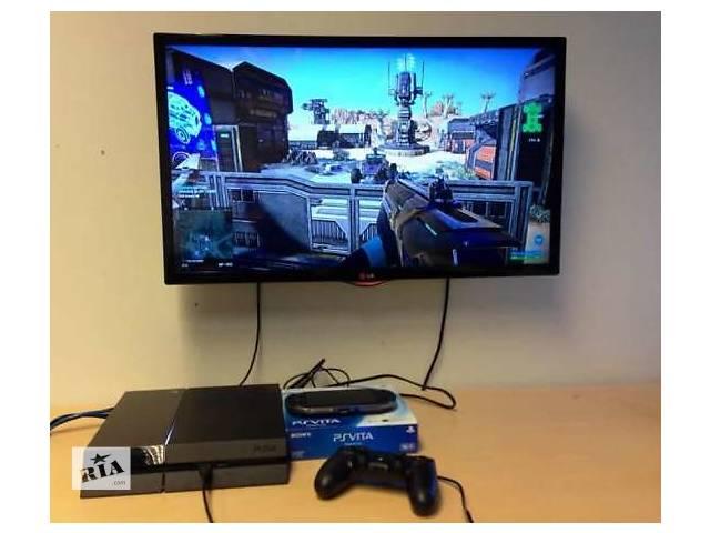 Приставка консоль Sony Playstation 4 PS4 500Gb + Игры- объявление о продаже  в Днепре (Днепропетровск)