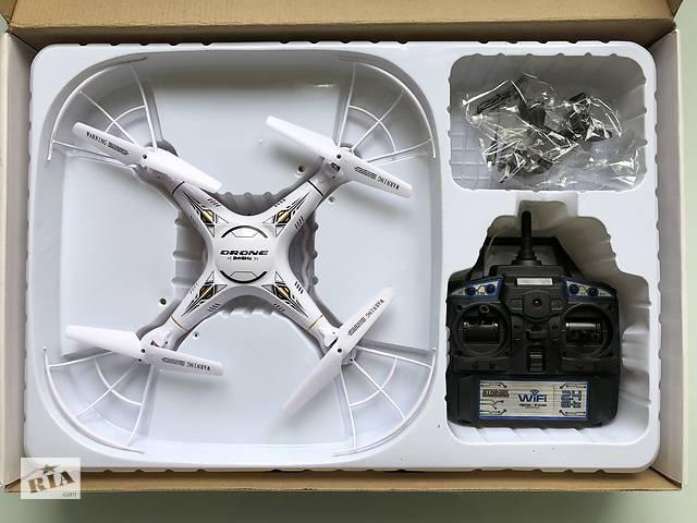 Квадрокоптер Real Time Transmission 8987w с камерой и wi-fi