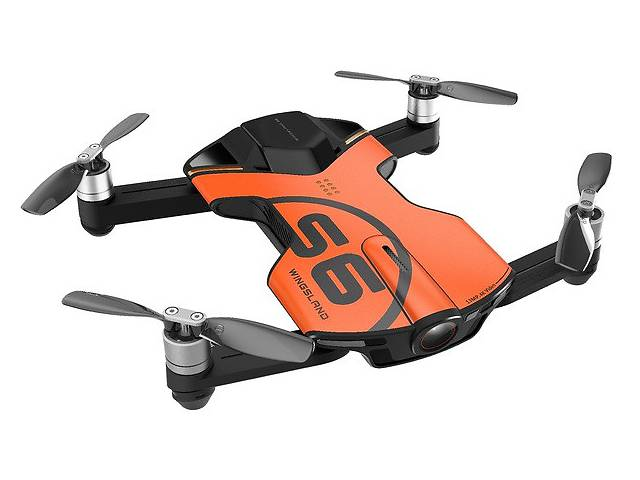 продам КВАДРОКОПТЕР WINGSLAND S6 GPS 4K POCKET DRONE ORANGE бу в Одессе