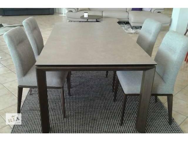 продам раскладной стол Calligaris Omnia CS/4058-LV 180, керамика бу в Киеве