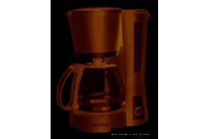 Кофеварка Scarlett SC-038 Черная (18820)
