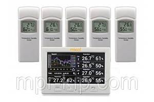 Регистратор температуры  и влажности MISOL WS-HP3001-8MZ с 5 выносными датчиками (-40 to 60°C; 10% to 99%) DWP
