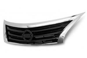 Решетка радиатора для Nissan Altima 2013-2015 хром черная