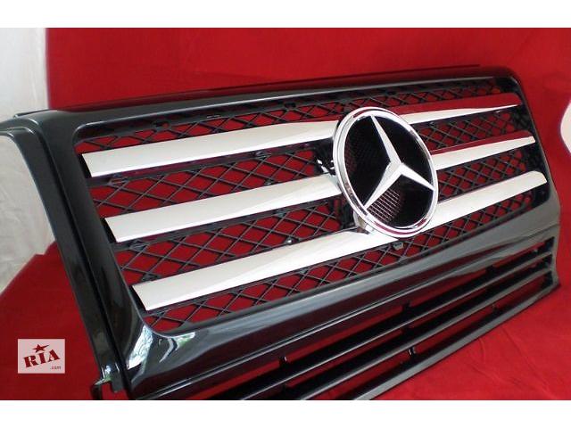 продам Решетка радиатора тюнинг рестайлинг Mercedes W463 в стиле G55 Мерседес бу в Луцке
