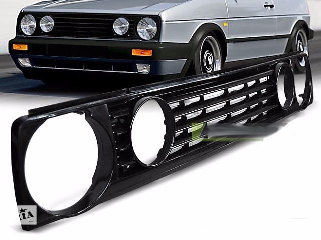 купить бу Решетка радиатора тюнинг VW Golf Гольф 2 (GRVW05) Фольксваген Гольф 2 в Луцке