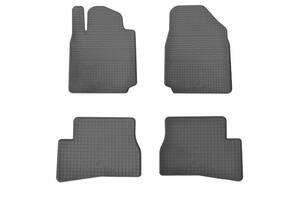 Резиновые коврики (4 шт, Stingray Premium) Nissan Micra K12 2003-2010 гг. / Резиновые коврики Ниссан Микра К12