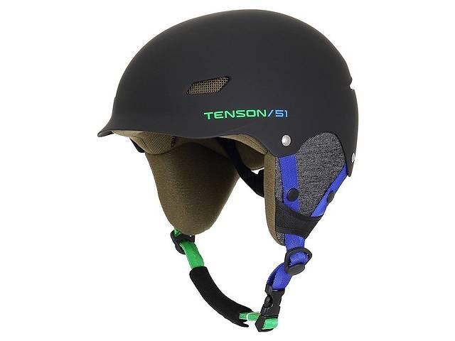 Шлем Tenson Park Jr (Чёрно-голубой)- объявление о продаже  в Дубно