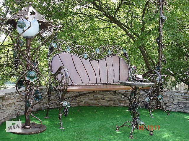 Садовая мебель, декор Кованая мебель для сада новый- объявление о продаже  в Дергачах