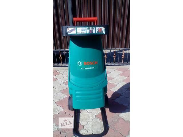 купить бу  садовый измельчитель Bosch AXT Rapid 2000 в Мариуполе (Донецкой обл.)