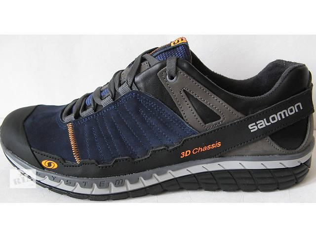 Salomon мужские удобные кроссовки весна осень ботинки яркие синие серые  туфли кожаные Саломон качественная модель обуви 8489e2a25bf