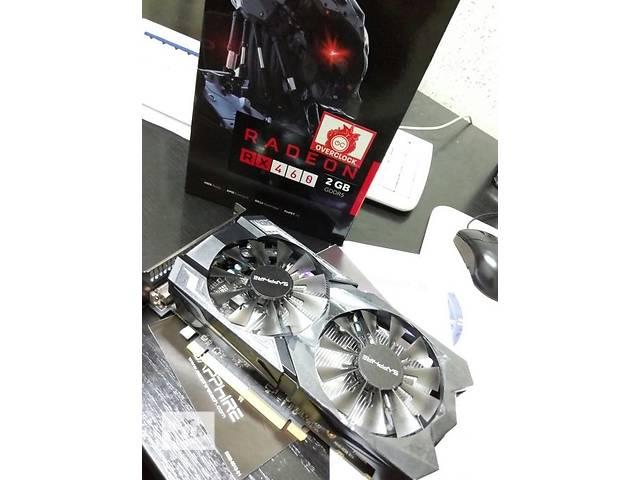 купить бу Sapphire PCI-Ex Radeon RX 460 2GB GDDR5 в Полтаве