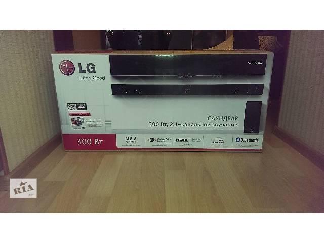 саундбар (дом. кинотеатр) LG NB3630A+ сабвуфер. Новый.- объявление о продаже  в Донецке