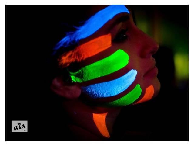 купить бу Сделай светящуюся краску для тела своими руками в Киеве
