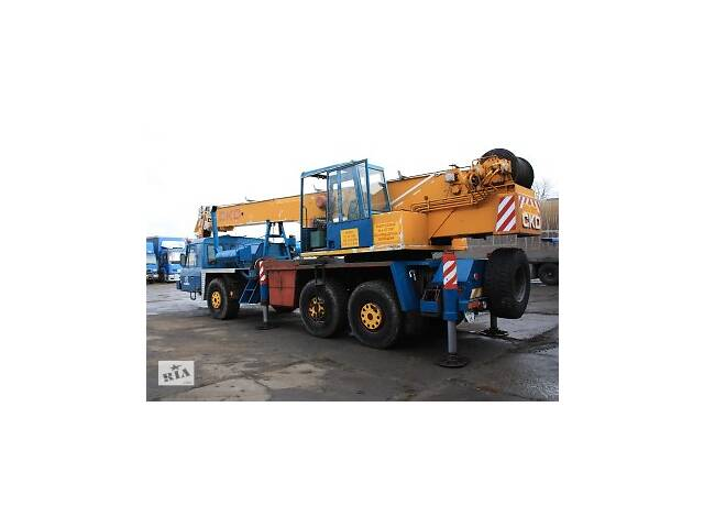 Аренда Автокрана 28 тонн TATRA CKD AD28