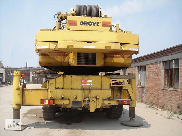 купить бу Аренда автокрана Grove 120 т  в Украине