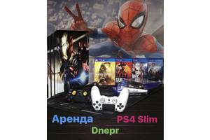 Аренда/Прокат PS4 Slim (Sony Playstation 4 Slim).