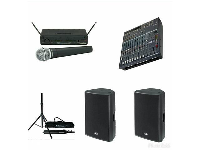 Аренда звука, звук, аппаратура, озвучка мероприятий- объявление о продаже  в Днепре (Днепропетровск)