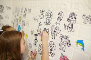 Детские 3D панели Дропшиппинг