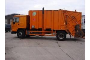 Мусоровоз VDK ремонт гидронасоса