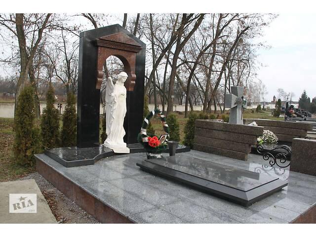 продам Надгробные плиты и гранитные памятники от производителя!  бу в Киеве