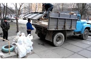 Вывоз мусора погрузка в машину Вывоз на свалку недорого Зил Бус Газель Вивіз сміття