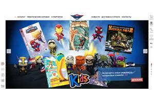 Інтернет магазин коміксів та аксесуарів