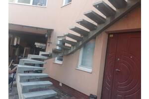 Заливка бетонних сходів