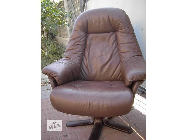 купить бу кожаное кресло для работы и отдыха в Ровно