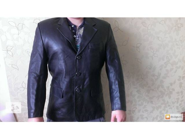 Кожаный пиджак-куртка- объявление о продаже  в Белой Церкви (Киевской обл.)