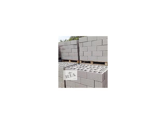 Шлакоблок с доставкой по Донецку и области, Шлакоблок блок камень- объявление о продаже  в Донецке