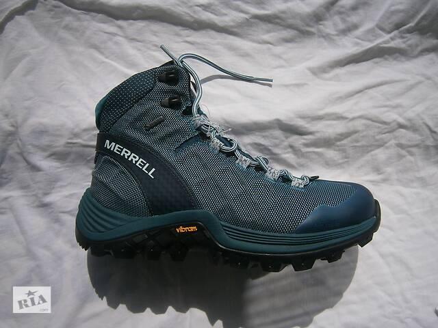 купить бу ботинки merrell primaloft 100g ,vibram arctic grip , gore-tex оригніал р.37.5 в Долині